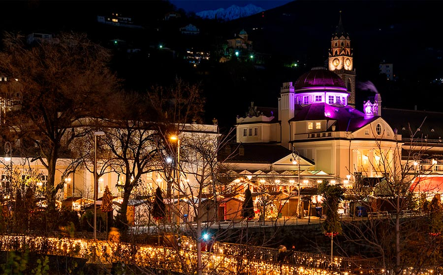 The Christmas Market in Merano
