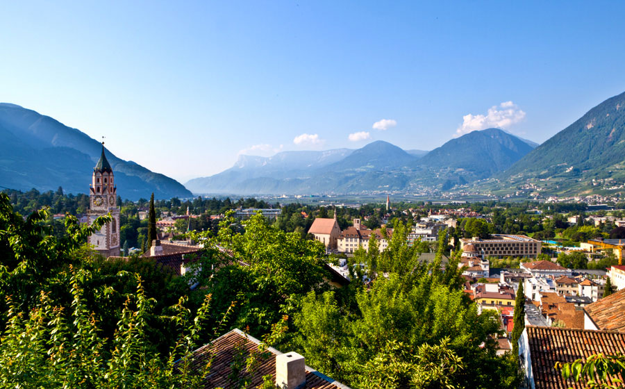 ruhiges hotel in meran mit thermalbad